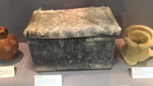 Found in the apsidal tomb it contained an adult cremation