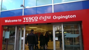 There is certainly something extra happening at Tesco today!
