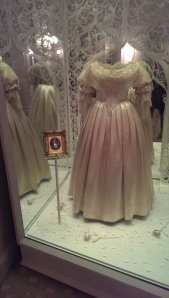 Queen Victoria's simple wedding dress, lace was popular well before Kate became the Duchess of Cambridge