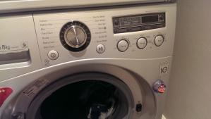What no washing machine?