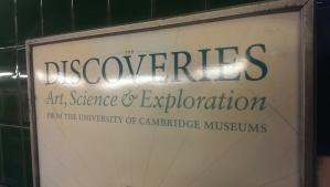 I am off to discover discoveries