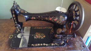 Well use, well loved, Singer Sewing Machine