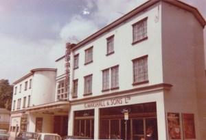 Embassy Cinema, Chesham Buckinghamshire. Photo by Len Gazzard taken 25 May 1974. (1) Creative Commons Attribution License