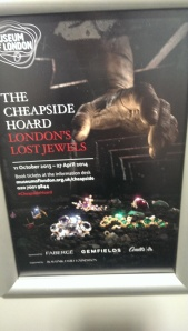 Saying Goodbye to the Cheapside Hoard