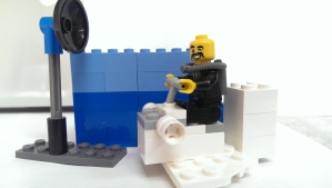 Extreme Lego Curator - Low oxygen