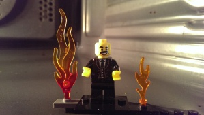 Extreme Lego Curator - Dry He is in the oven, Kids! Please don't try this at home!!!!