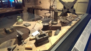 Wonderful recreation of a jewellers workshop