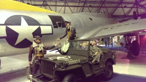 GI Joe Mannequins at RAF Museum - very realistic