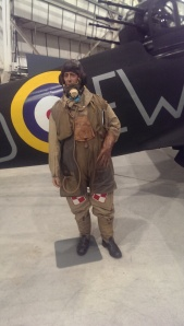Great mannequin that really show how bulky flying gear was. RAF Museum