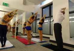 It's a tough job but someone's got to do it Extreme Curator - hot (yoga)