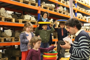 Real archaeology inspiring young minds