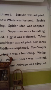 Spider-man was adopted. Superman was a foundling.