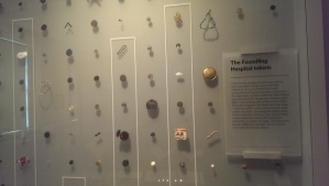 The Foundling Museum Tokens, so much emotion in such tiny objects