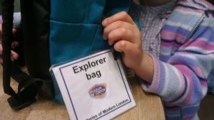 Explorer bag Museum of London Docklands