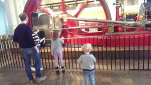 My family at the Science Museum