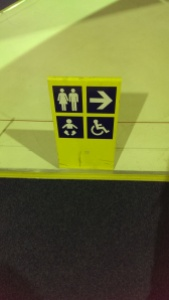 Clear signage around the museum