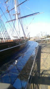 Sailing the digital seas on the Cutty Sark