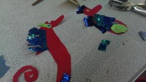 Making Sea Horses, mine is called Eric