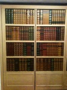 Here we go….through the bookcase