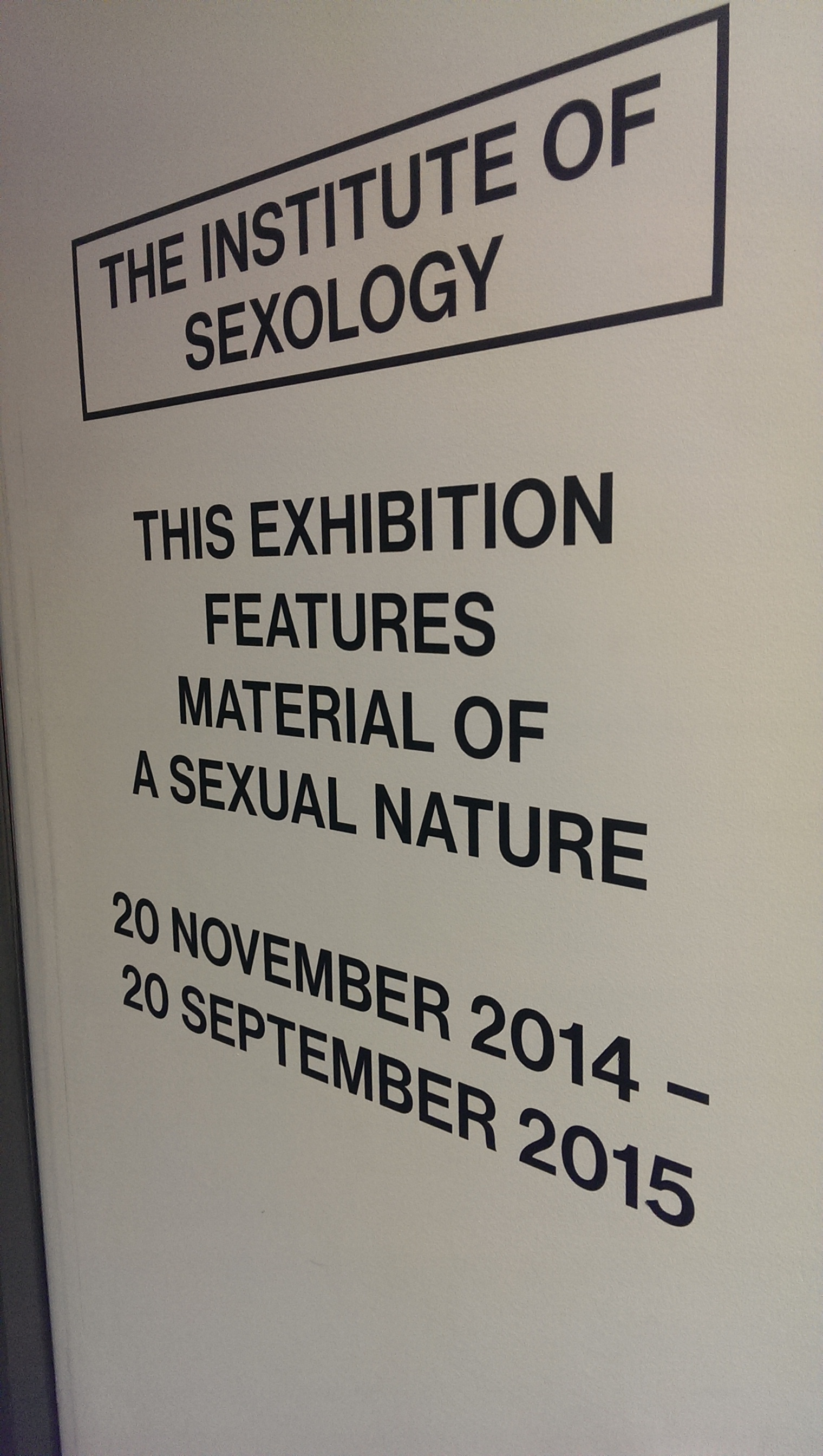 Nature of sex collection