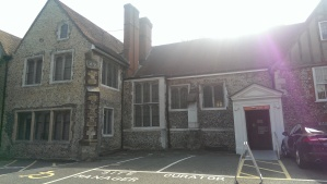 My first volunteer home, Bromley Museum