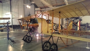 Caudron G.3 1915-18, this example probably built 1916 flew at the Hendon Pageant 1936.