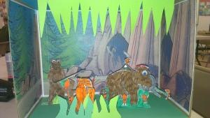 Mammoth scene