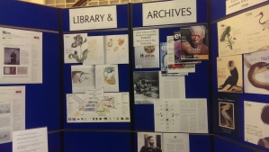 Showcasing library and archives work