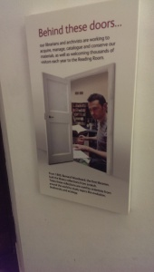 Behind these doors……..Library surprise!