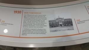 Bethlem Hospital timeline