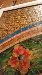 The Tiffany Mosaics are stunning and vibrant