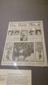 The murder in 'The Brides in the Bath' - Daily Mirror front page 1915