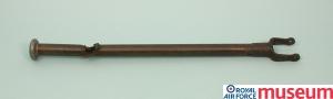 Dowding's lucky control column. Copyright RAF Museum.