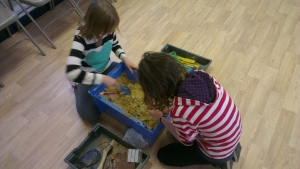 Engaging children with archaeology at Bromley Museum