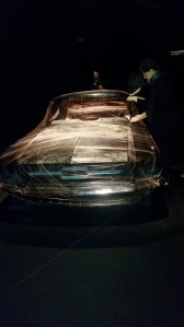 Mummifying a Ford Mustang