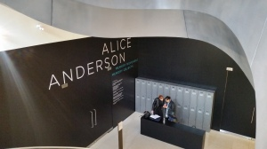 Alice Anderson at Wellcome Collection July 2015
