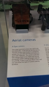 An early Aerial camera from the RAF Museum