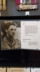 Albert Ball, WW1 Flying Ace died at the age of 20.