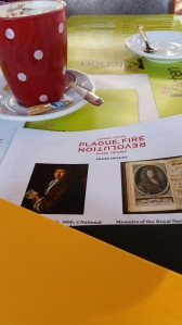 I love a bit of plague with my coffee in the morning