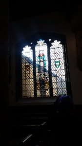 The beautiful Clothworkers Guild window