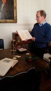 Church historian shows us Pepys' prayer book