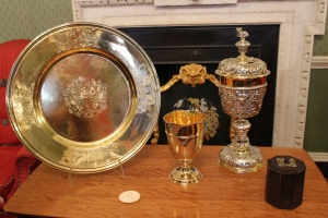 Impressive treasures at the Clothworkers Hall