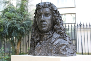 Coming face to face with Samuel Pepys in the churchyard at St Olave Hart Street