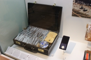 Replica of the Hyde Park bomb from