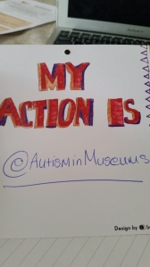 My own pledge to do more to promote inclusive heritage - Autism in Museums a new twitter account