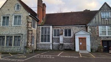The now closed Bromley Museum at the Priory Orpington
