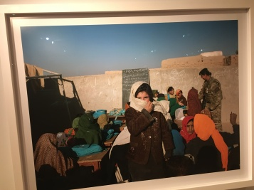Lashkar Gah Girls School, Helmand Province Afghanistan 2011. Copyright Mark Neville. In 2011 Neville was commissioned by the Imperial War Museum to spend two months with the British Army's 16 Air Assault Brigade as an official war artist.