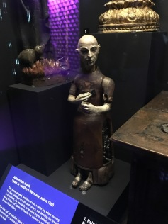 Automaton monk 1560 on loan from the Smithsonian