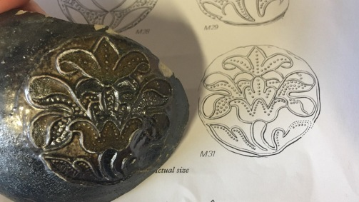 Fulham Pottery medallions