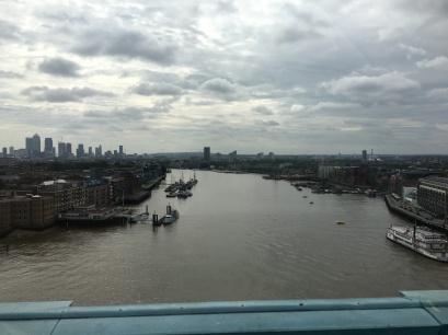 Fantastic views of London